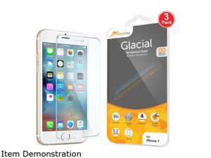 rooCASE Tempered Glass Screen Protector for Apple iPhone 7 (3-Pack) RC-IPH7-4.7-TG018-3PK