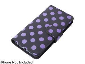 i-Blason Leather Book Dal Black Folio Wallet Case for iPhone 6 Plus / 6s Plus iPhone6-5.5-Leatherbook-DalBlack
