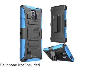 i-Blason Prime Blue Dual Layer Holster Case for Galaxy Note 4 Galaxy-Note4-Prime-Blue