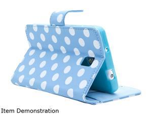 i-Blason Leather Book Dal Blue Wallet Cover for Galaxy Note 4 Galaxy-Note4-LeatherBook-Dal-Blue