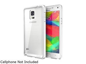 i-Blason Halo Clear Scratch Resistant Transparent Hybrid Case with TPU Bumper for Galaxy Note 4 Galaxy-Note4-Halo-Clear