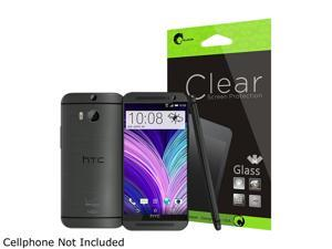 i-Blason Clear HTC All New HTC One M8 Smartphone Screen Protector HTCOne-SC-Gls-Clear