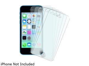Insten Transparent 6-Pack Matte Anti-Glare Full Body LCD Screen Protector Film Shield Guard Cover for iPhone 5/ 5S/5C 1613112