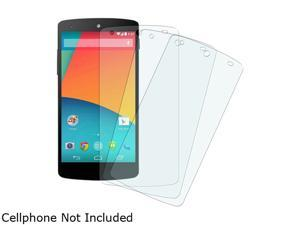 Insten Clear 3-Pack Set Anti-Glare Screen Protector Compatible with LG Nexus 5 D820 / D821 1646144