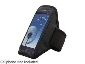 Insten Black Sportband Compatible with Motorola Moto X / Moto G 1646123