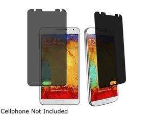 Insten Clear 2 packs of Privacy Screen Covers Compatible with Samsung Galaxy Note III Note 3 N9000 1457831