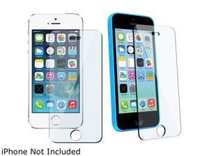 Insten Transparent 3 packs of Tempered Glass Screen Protector Compatible with Apple iPhone 5 / 5S / 5C 1572653
