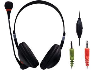 Sentry HMM10 3.5mm Connector Multi Media Headphone with Microphone