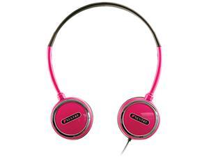 Sentry Pink 3.5mm Headart Extreme Folding Earphones HO303