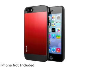 Spigen Saturn Metal Red iPhone 5S / 5 Case SGP10143