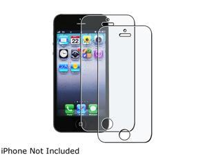 Insten Transparent 2-piece Anti-Glare Screen Protector for Apple iPhone 5 / 5C / 5S 1401143
