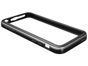 macally Black Dual-Tone Protective Frame Case For iPhone5C RimP6-B
