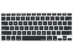 Macally Black Protective Cover For Macbook Pro, Macbook Air and most Mac keyboards KBGUARDB