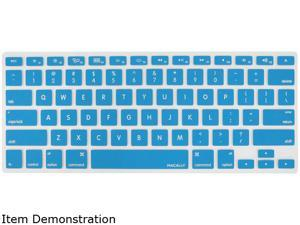Macally Blue Protective Cover For Macbook Pro, Macbook Air and most Mac keyboards KBGUARDBL