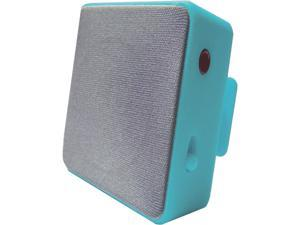 HYPE HYAU-454-TEAL Teal Bluetooth Cube Clip Stereo Speaker