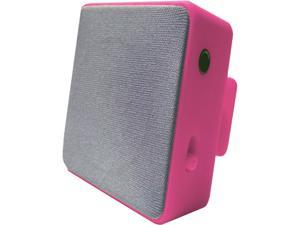 HYPE HYAU-454-PNK Pink Bluetooth Cube Clip Stereo Speaker