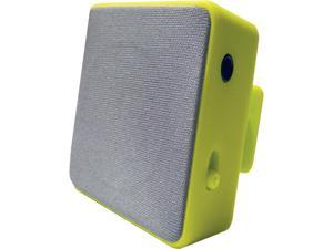 HYPE HYAU-454-GRN Green Bluetooth Cube Clip Stereo Speaker
