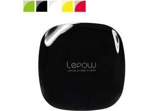 LEPOW MOONSTONE Black 3000 mAh Portable Charger MS3000-B-US-01