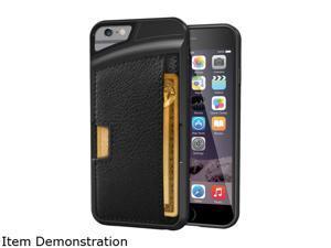 CM4 Q Card Black Wallet Case iPhone 6 / 6s Q6-BLACK
