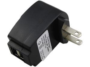 Insten 2 Port USB Travel Charger Adapter Compatible with Blackberry Z10, Black
