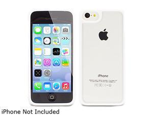 The Joy Factory Jamboree White Soft Bumper with Clear Back Case for iPhone 5C CSD205