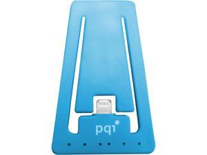 PQI 6PCJ-008R0001A Blue i-Cable Stand Apple Certified MFI iPhone Stand with Lightning Connector
