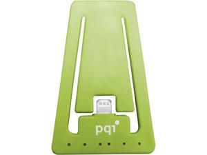 PQI 6PCJ-008R0002A Green i-Cable Stand Apple Certified MFI iPhone Stand with Lightning Connector