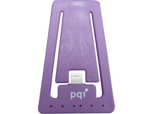 PQI 6PCJ-008R0003A Purple i-Cable Stand Apple Certified MFI iPhone Stand with Lightning Connector