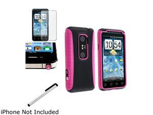 Insten Pink and Black Case & Covers
