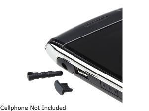 Insten 2-piece 3.5mm & Micro USB Plug Cap Compatible with Blackberry Z10, Black