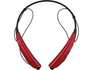 LG Tone Pro HBS-770 Red Stereo Bluetooth Headphones