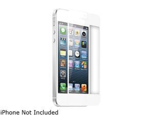 TekNmotion White Real Glass Screen Shield for iPhone 5 / 5S TM-GSP5W