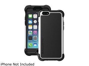 Ballistic Case Tough Jacket Maxx Black/White Case w/ Holster for iPhone 6 TX1416-A08C