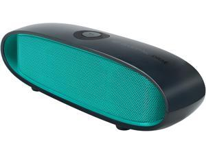 GOgroove BlueSYNC DRM Wireless Bluetooth Speaker with 10-Hour Rechargeable Battery and Integrated Microphone (Green) - Works with Samsung Galaxy S7, Applie iPhone 6s, LG G5 & More Multimedia Devices