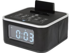 GOgroove Dual Alarm Bluetooth Clock Speaker with FM Radio , USB Charging and LED Display - Works With Apple , Samsung , LG and More Smartphones