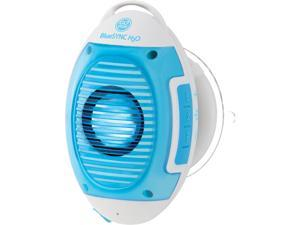 GOgroove IPX4 Splash Proof Bluetooth Shower Speakerphone with Onboard Controls and Microphone for Hands Free Calling