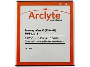 Arclyte - MPB02018 - Cell Phone Battery - Samsung Infuse 4G (EB555157VA)