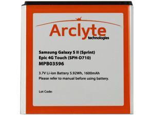 Arclyte Black 1600 mAh Cell Phone Battery MPB03596