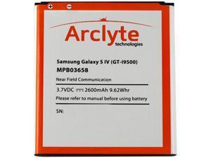 Arclyte Black 2600 mAh Cell Phone Battery MPB03658