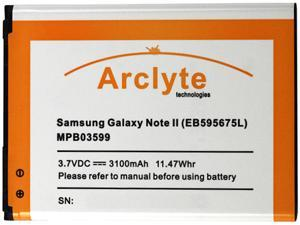 Arclyte Black 3100 mAh Cell Phone Battery MPB03599
