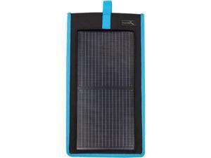EnerPlex KR-0002-BL Kickr II Portable USB Solar Charger, Blue
