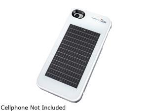 EnerPlex Surfr ICS White 1400 mAh Solar Powered Phone Case for iPhone 4 / 4S SFI-1400-WH