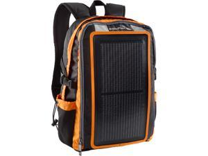 EnerPlex PK-ALPHA-OR Packr Backpack with Integrated 3 watt Solar Charger and USB port, Orange