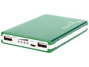 EnerPlex Jumpr Max Green 10000 mAh Rechargeable Li-ion Battery USB 1A and 2.1A output JU-MAX-GR