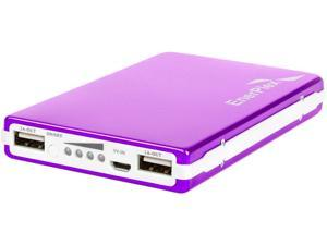 EnerPlex Jumpr Max Pink 10000 mAh Rechargeable Li-ion Battery USB 1A and 2.1A output JU-MAX-PK
