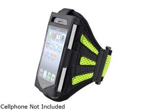 Insten Black / Green Deluxe ArmBand For Apple iPhone / iPod touch 1848108