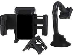Insten Windshield Phone Holder Compatible with HTC One M7, Black