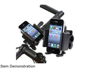 Insten Bicycle Phone Holder Compatible with HTC One M7, Black