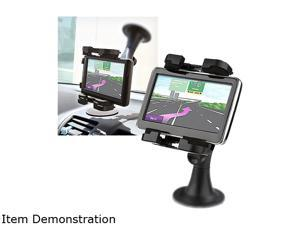Insten Black Swivel Rotating Car Windshield Mount Phone Holder for Samsung Galaxy Note 4 and more 1957878