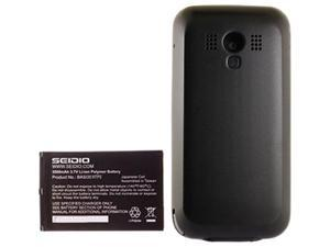 Seidio Black 3500 mAh Innocell Extended Life Battery for HTC Touch Pro 2 BACY35HTP2-BK